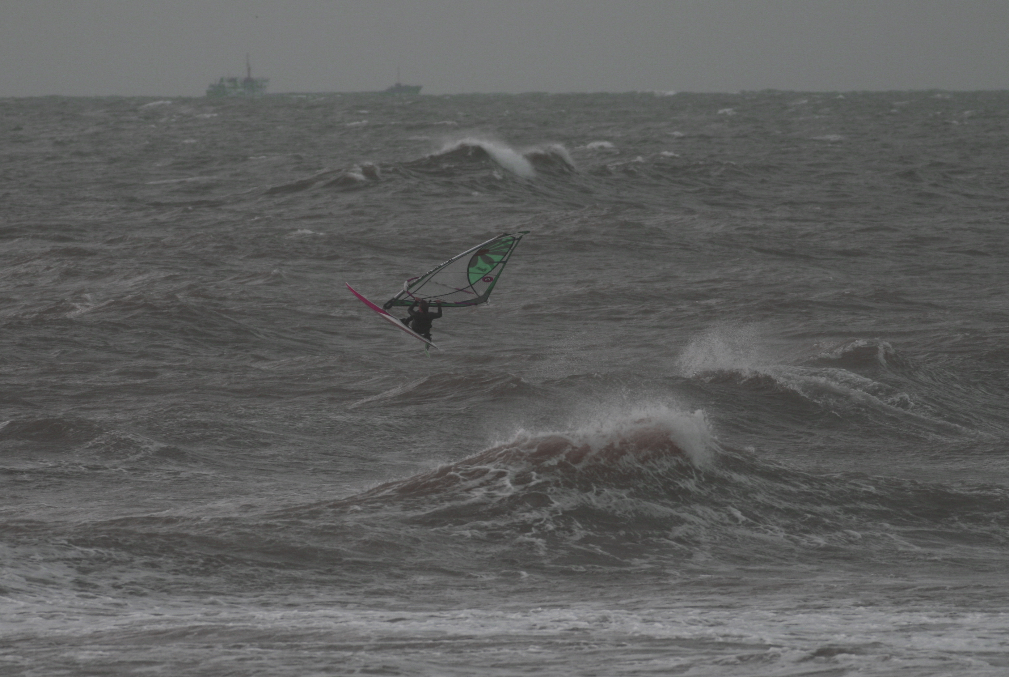 Sturm auf der Nordsee