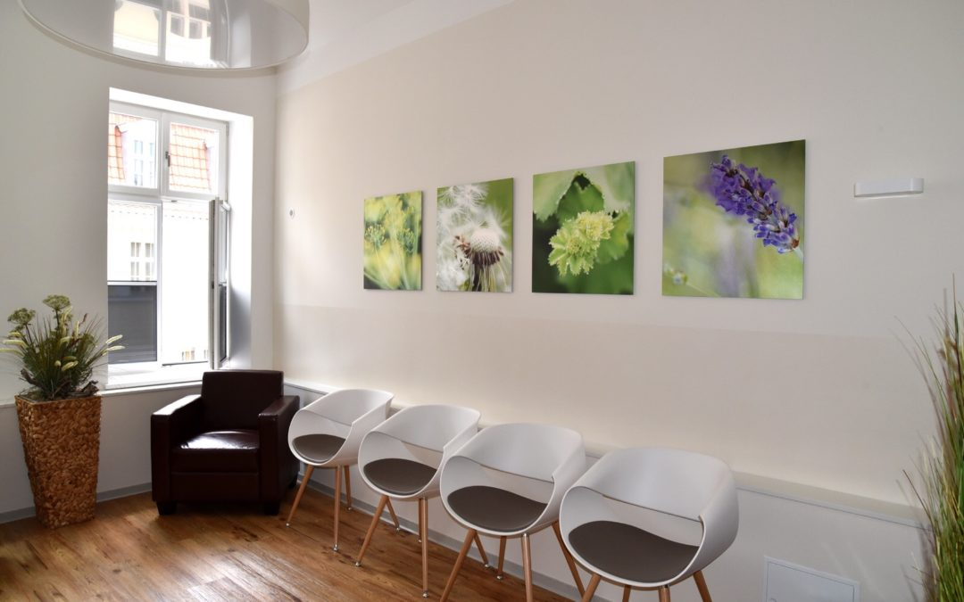 Arztpraxis in Stralsund – Feng Shui & Website