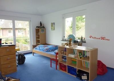 """Kinderzimmer nachher - optimierte Bettplatzierung und neue """"Chill-out Lounge"""""""