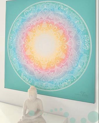 Yandala  – leuchtende Mandalas von Yvonne Lamberty