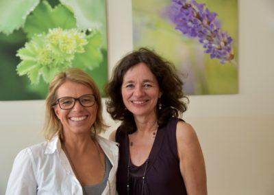 Bettina Kohl und Irmgard Brand