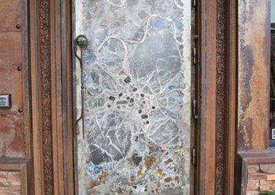 Glaskunst im Eingang