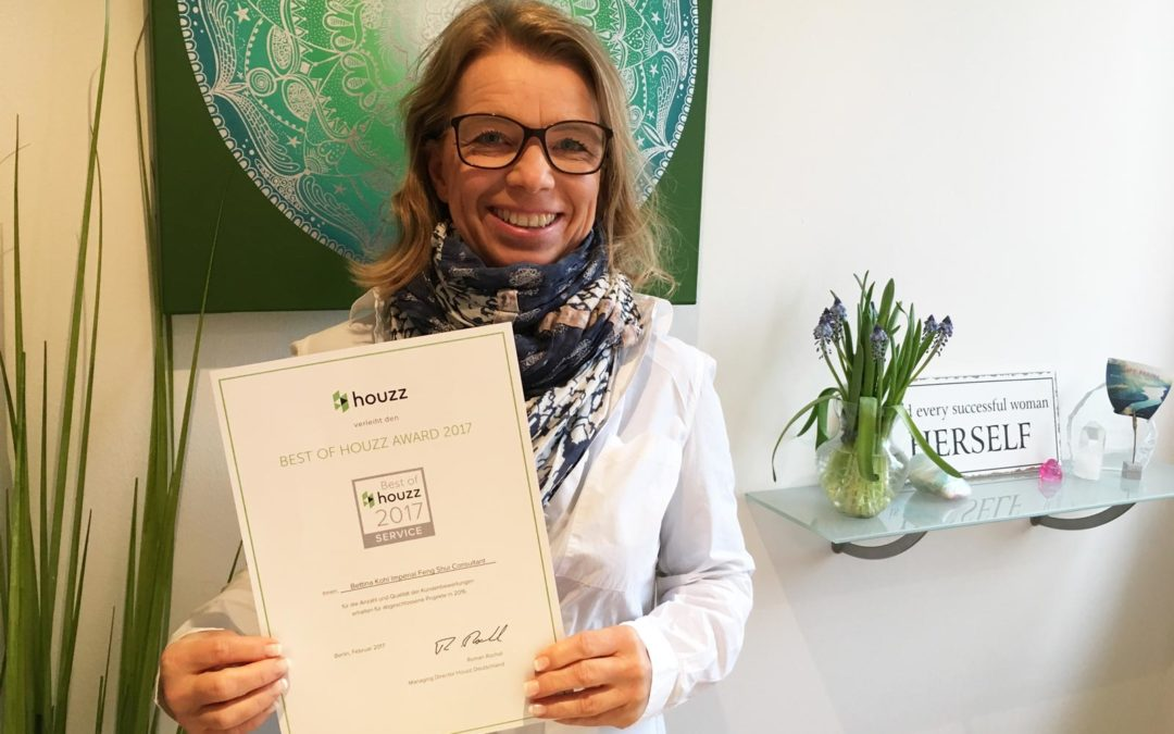 Bettina Kohl Houzz Award 2017