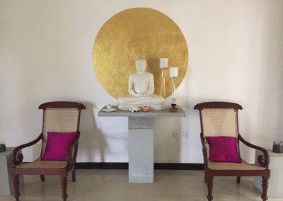 Buddha für positive Vibes