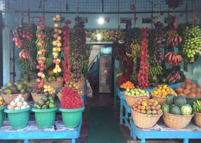 Farbenpracht im Gemüseladen
