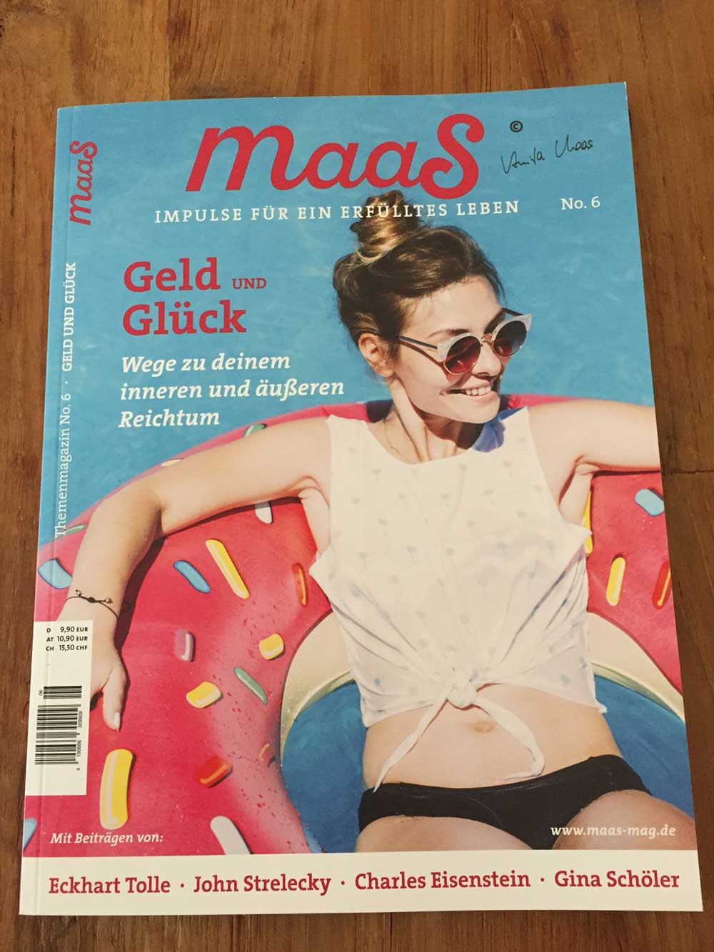 Presseartikel Maas Magazin Business Feng Shui Bettina Kohl