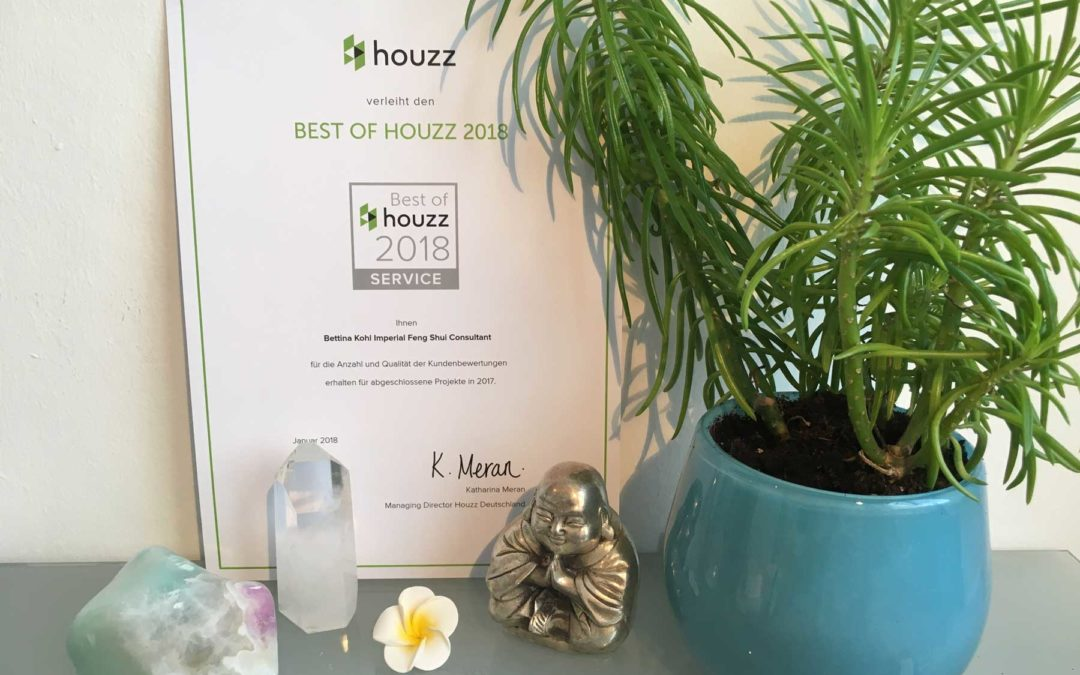 And the winner is … Auszeichnung mit HOUZZ Award 2018